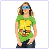 Teenage Mutant Ninja Turtles Top With Mask