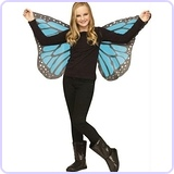 Soft Butterfly Wings Blue