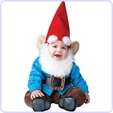 Baby Boy's Garden Gnome Costume