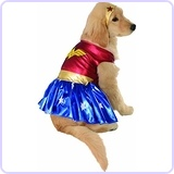 DC Comics Wonder Woman Pet Costume, Medium