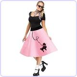 Poodle Skirt, Small/Medium 2-8 Costume
