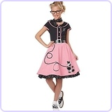 Child's 50's Sweetheart Costume, Large