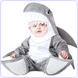Baby's Silly Shark Costume