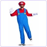 Super Mario Deluxe Mens Adult Costume