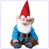 Baby Boy's Garden Gnome Costume, Large
