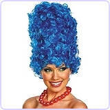 The Simpsons Marge Deluxe Wig