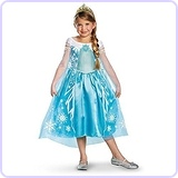 Disney's Frozen Elsa Deluxe Girl's Costume, 7-8