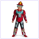 Boy's Transformers Heatwave Rescue Bots Costume, 3T-4T