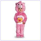 Baby Girl's Care Bears Wonderheart Bear Deluxe Costume, 3T-4T