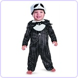 Jack Skellington Prestige Infant Costume, 12-18 Months