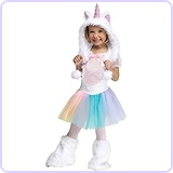 Baby Girl's Unicorn Toddler Costume