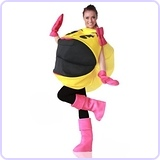 Adult Ms. Pac-Man 3D Costume