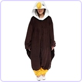 Bald eagle diy costume bald eagle onesie solutioingenieria Image collections