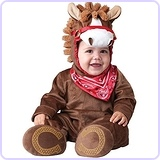 Baby Boy's Playful Pony Costume