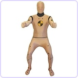 Crash Test Dummy Morphsuit Costume