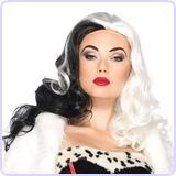 Cruella Wig Costume Accessory