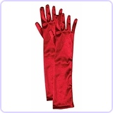 Child Opera Satin Gloves