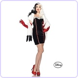 Cruella de Vil Adult Disney Costume ML