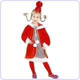 Child Cindy Loo Who Costumee (Medium 7-10)