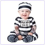 Baby Prisoner Halloween Costume (12-18 months)