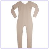 Child's Long Sleeve Scoop Unitard 2-4