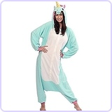 Blue Unicorn Kigurumi Costume