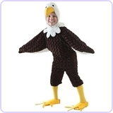 Big Boys' Child Eagle Costume