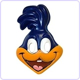 Looney Tunes Road Runner PVC Mask