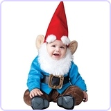 Baby Boy's Garden Gnome Costume, Medium