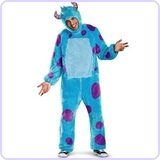 Adult Sulley Costume (X-Large)