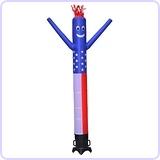 Tube Man American Flag Inflatable Air Dancer, 10-Feet