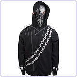 Marvel Men's Ghostooridoo Costume Hoodie