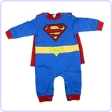Baby Boys Superman Costume, Detachable Cape (18-24 months)