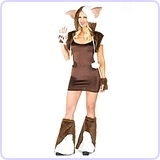 Women's Monster Gremlin Costume