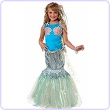 Deluxe Mermaid Child Costume, Small/4-6