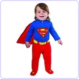 Rubie's Costume Baby's DC Comics Superman Costume, 6-12 Months