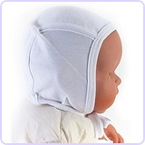 Baby Soft Cotton Knit Bonnet Hat (Pilot Cap)
