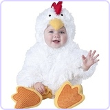 Baby's Cluckin' Cutie Chicken Costume, Small