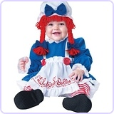 Baby Girl's Rag Doll Costume