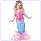 Baby Girl's Mermaid Costume, 4T