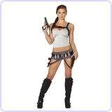 Women's 5 piece Treasure Huntress Costume