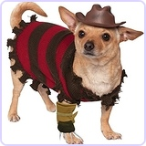 A Nightmare on Elm Street Freddy Krueger Pet Costume, Small