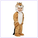 Baby's Chipper Chipmunk Costume, Small