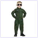 Baby Boy's Top Gun Aviator Toddler Costume, X-Large