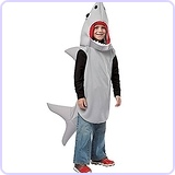 Sand Shark Costume, 7-10
