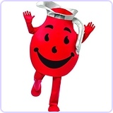 Men's Kool Aid Guy Deluxe
