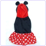 Minnie Mouse Dog Costume (Size 3)