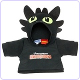 How to Train Your Dragon Toothless Teddy Bear Hoodie