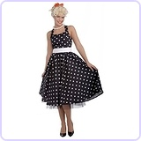 Women's Flirting with The 50's Polka Dot Cutie