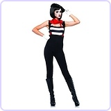 Women's 3 Piece Marvelous Mime Costume